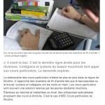 Article du 14.06.2014 Le business florissant des cours particuliers
